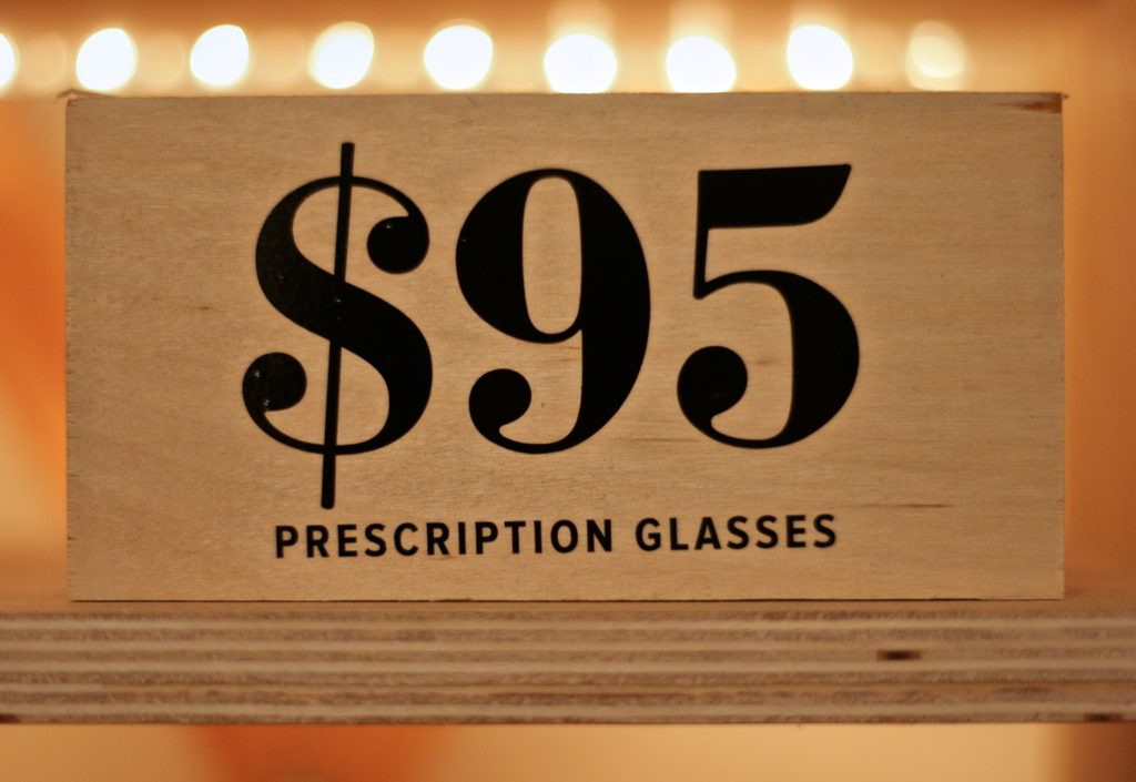 $95 prescription glasses