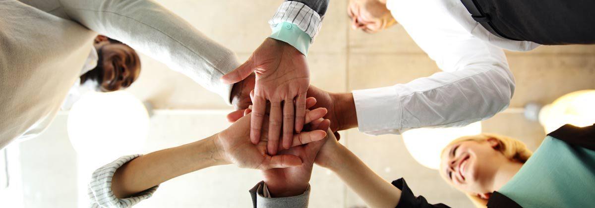 Hands in team