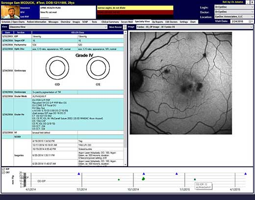Eye Doc EHR