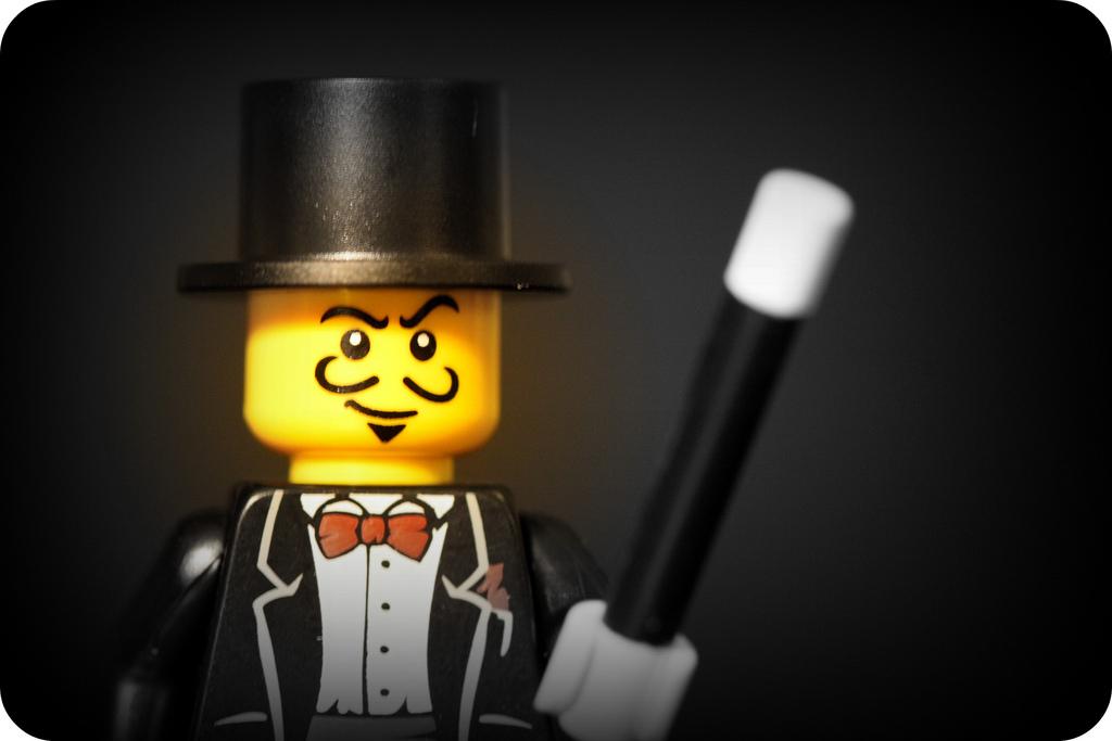 lego magician
