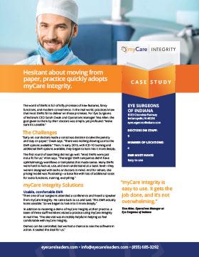 myCare Integrity Case Study