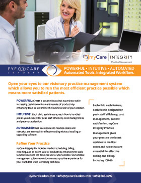 myCare Integrity Practice Management