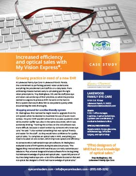 Lakewood Family Eye Care Case Study
