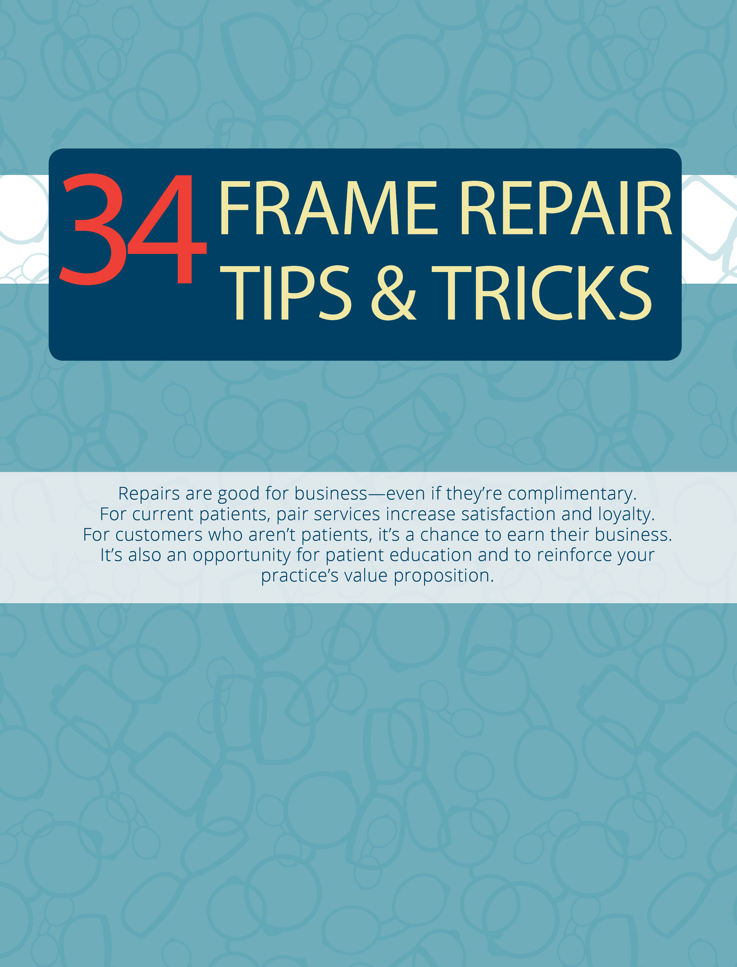 34 tips for glasses repair
