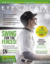 Eye Care Leaders Spring Magazine Cover